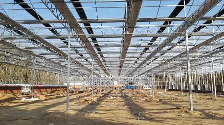 温室大棚施工